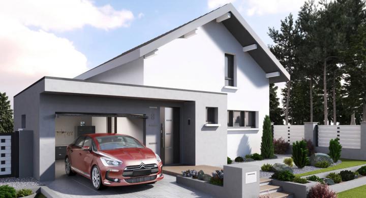 Projet de construction maison neuve près de Champanges Haute-savoie 74 à 355 000 €