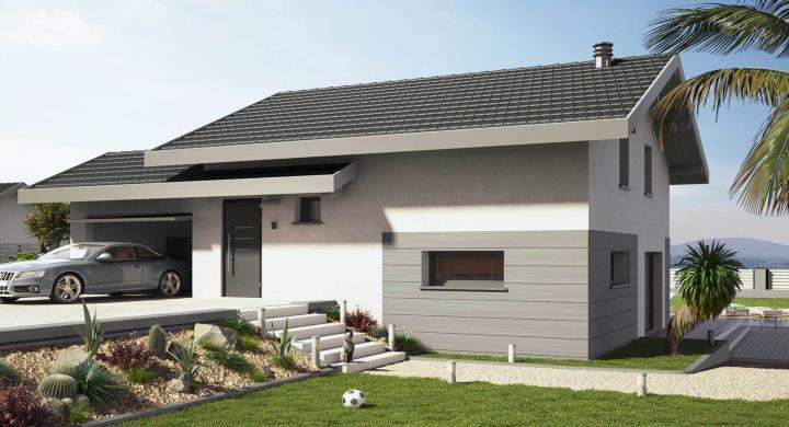 Projet de construction maison neuve près de Monnetier-Mornex Haute-savoie 74 à 415 000 €