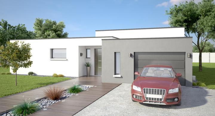 Projet de construction maison neuve près de Veigy Foncenex Haute-savoie 74 à 715 000 €